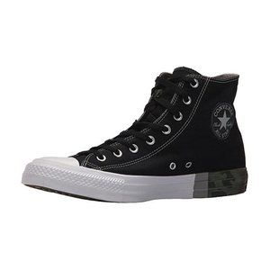 Converse Men's CTAS Tri-Block Black/White Size 9.5